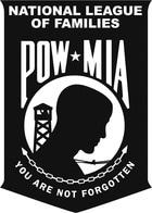 POW/MIA National League of Families logo