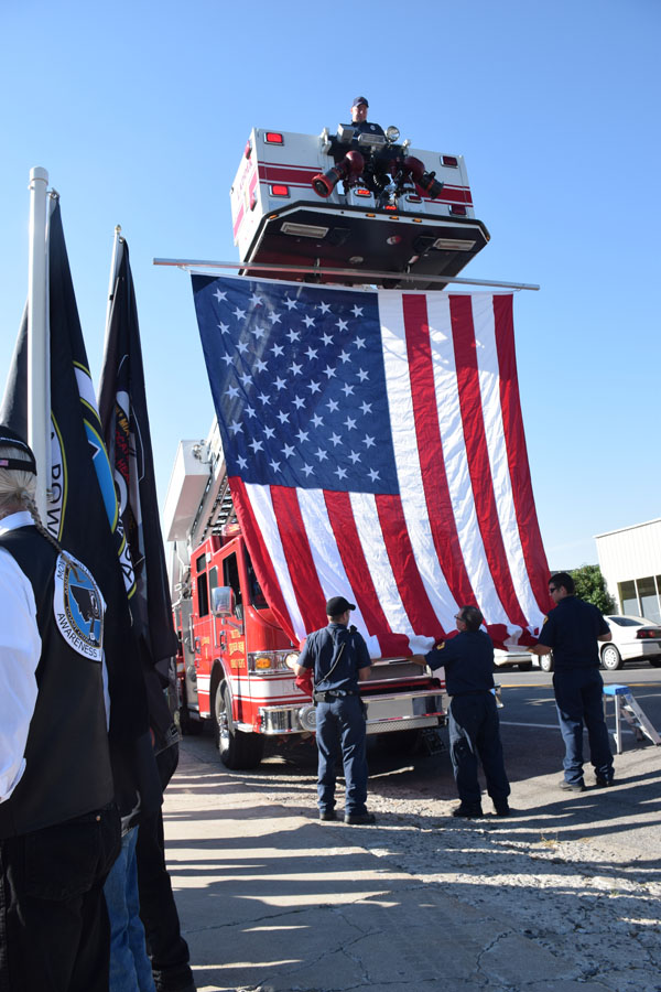 Funeral for Captain Robert E. Holton