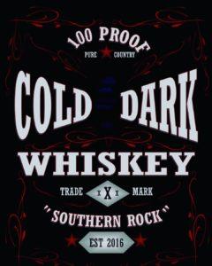 Cold Dark Whiskey logo