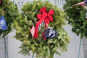 Wreath from Wreaths across America